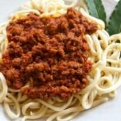 Spaghetti With Ragu