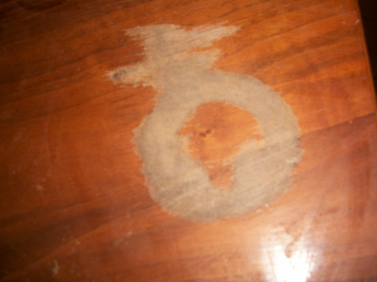 Fixing Wood Furniture Damaged By Household Cleaners