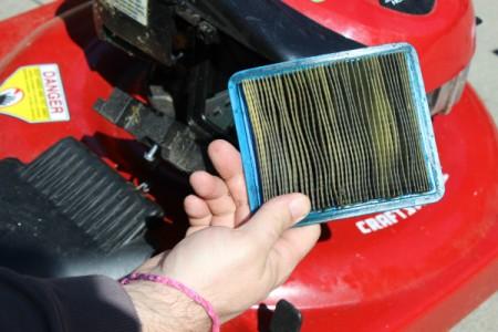 dirty air filter
