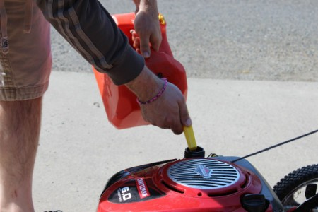 add fresh gas
