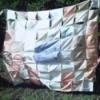 Wax Crayon Quilt Blocks
