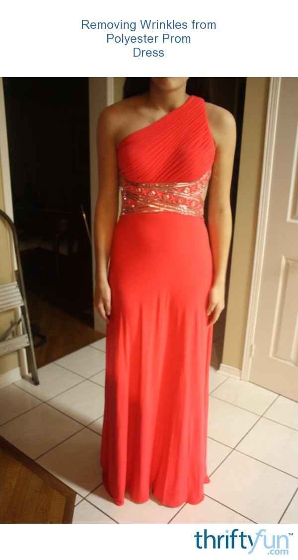Removing Prom Dresses