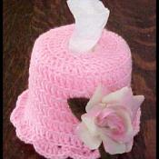 Finished tissue hat.