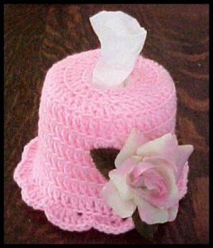 Crochet Tissue Cover