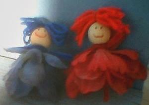 Silk Flower Fairies