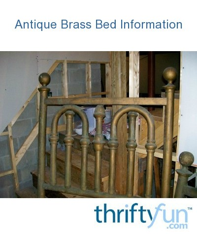 dating an antique brass bed