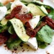 Salad with balsamic vinaigrette.