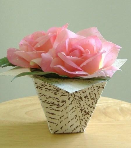 Making a folded paper flower box thriftyfun making a folded paper flower box category origami mightylinksfo