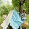 Bed Sheet Tent