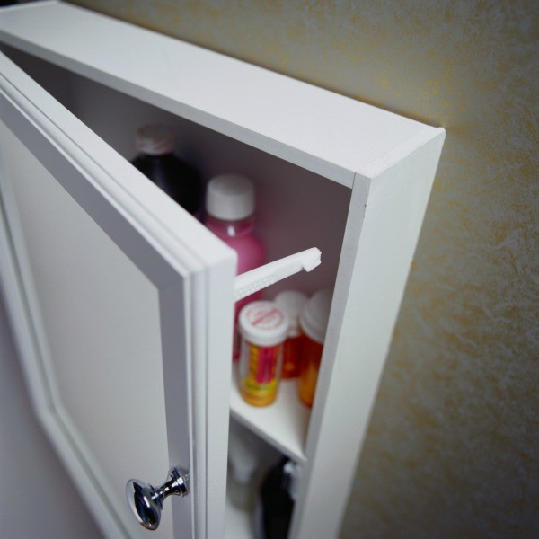 Bathroom Cabinet Door Won't Stay Closed | ThriftyFun