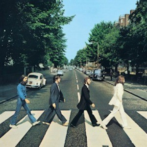 Beatles Abbey Road Album Cover