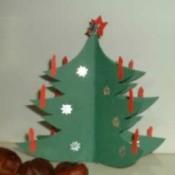 Three-dimensional Paper Christmas Tree