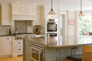 A nice new kitchen.