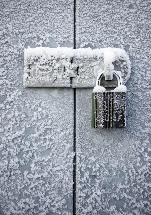 Fixing A Frozen Lock Thriftyfun