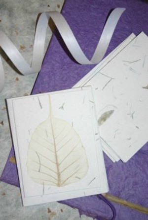 Homemade Paper You Can Plant
