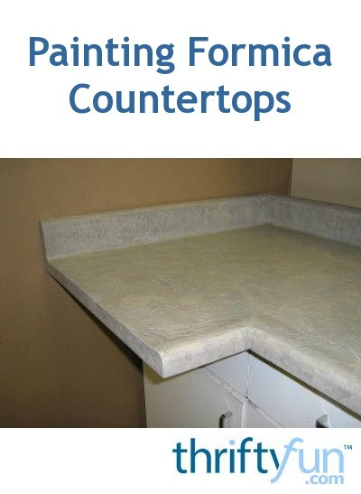 Painting A Formica Countertop Thriftyfun
