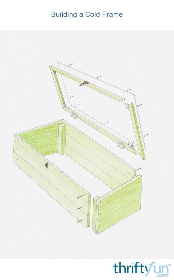 Building a Cold Frame | ThriftyFun