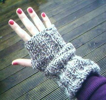Knitting Fingerless Gloves | ThriftyFun
