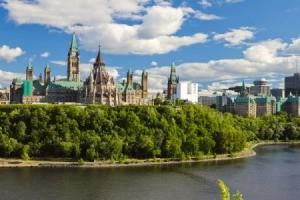 Parliament Building in Ontario, Canada