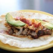 Sausage Breakfast Burrito