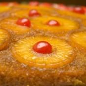 Cake using Dole pineapple.