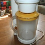 Iced tea maker.