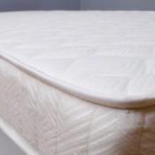 A nice white mattress.