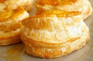 savory puff pastry
