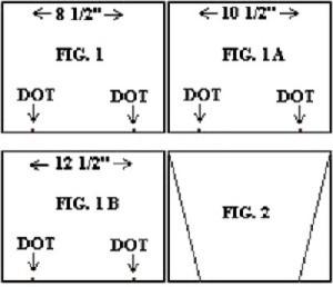 Camisole Insert Diagram