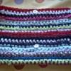 Crocheted T-shirt Clutch