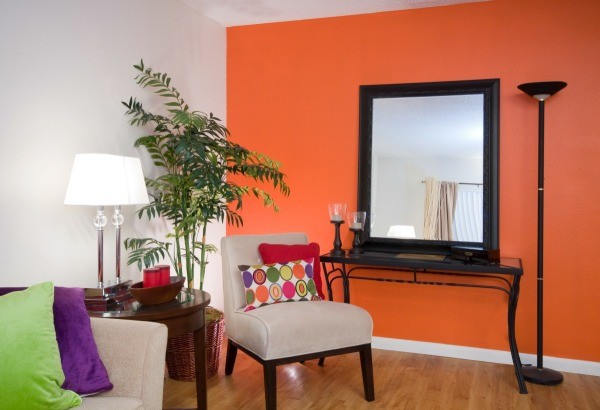 painting one wall a different color in a bedroom painting a living room 2 different colors thriftyfun 21338