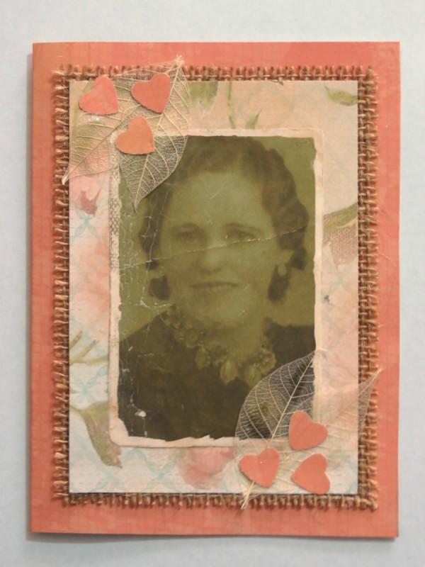 Making A Vintage Photo Birthday Card Thriftyfun