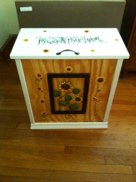 Homemade Garbage Can