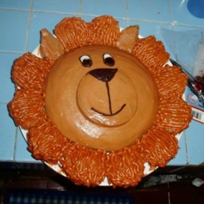 Amazing Making A Lion Cake Thriftyfun Funny Birthday Cards Online Overcheapnameinfo