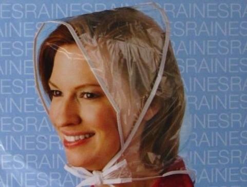 Using A Plastic Rain Bonnet Thriftyfun