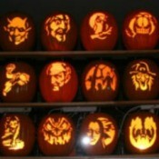 Carving Foam Pumpkins