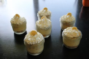 Banana Cream Pie in a Jar