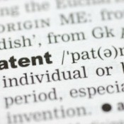 The word patent in the dictionary.