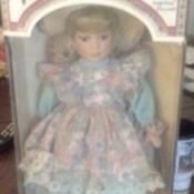 Doll in original box.