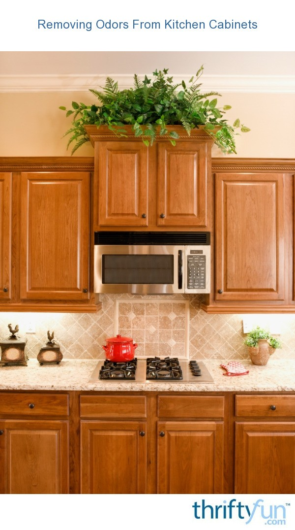 Cleaning Odors From Kitchen Cabinets Thriftyfun
