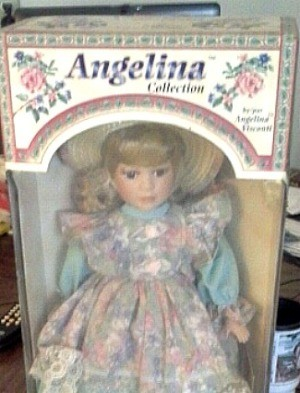Angelina Visconti Porcelain Doll