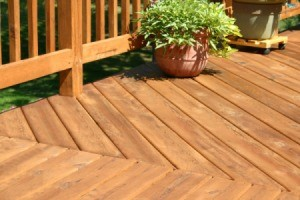 Beautiful Cedar Deck