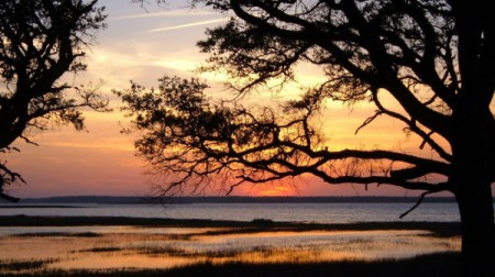 Peace Like A River (Cape Fear River, Fort Fisher, NC)