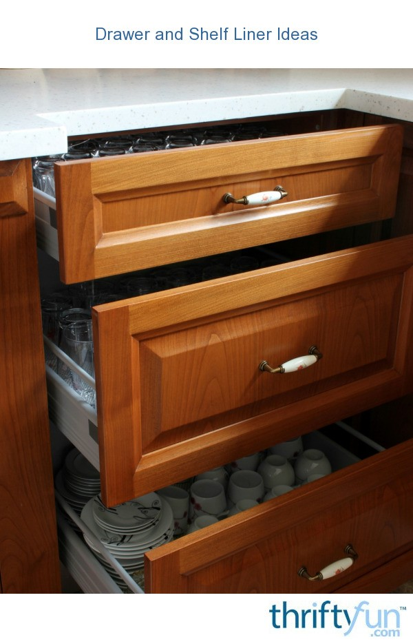 kitchen cabinet shelf liner drawer and shelf liner ideas thriftyfun 5751