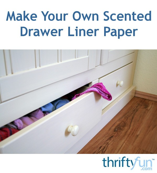 Own Scented Drawer Liner Paper