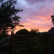 June Sunset (West Coast of England)