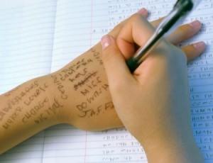 Pen Ink on Skin