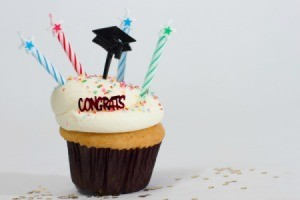Graduation Party Cupcake