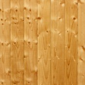 Siding made of wood boards.