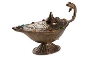 arabian magic lamp